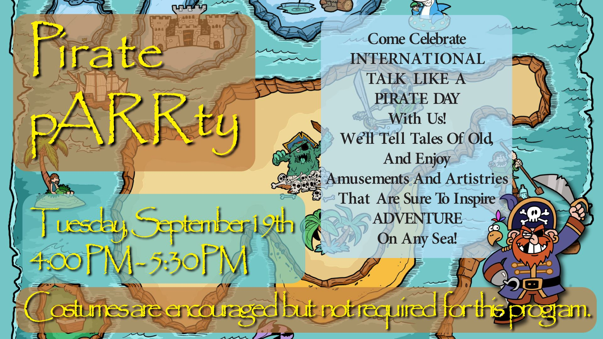 Pirate Parrrty Flyer2222222