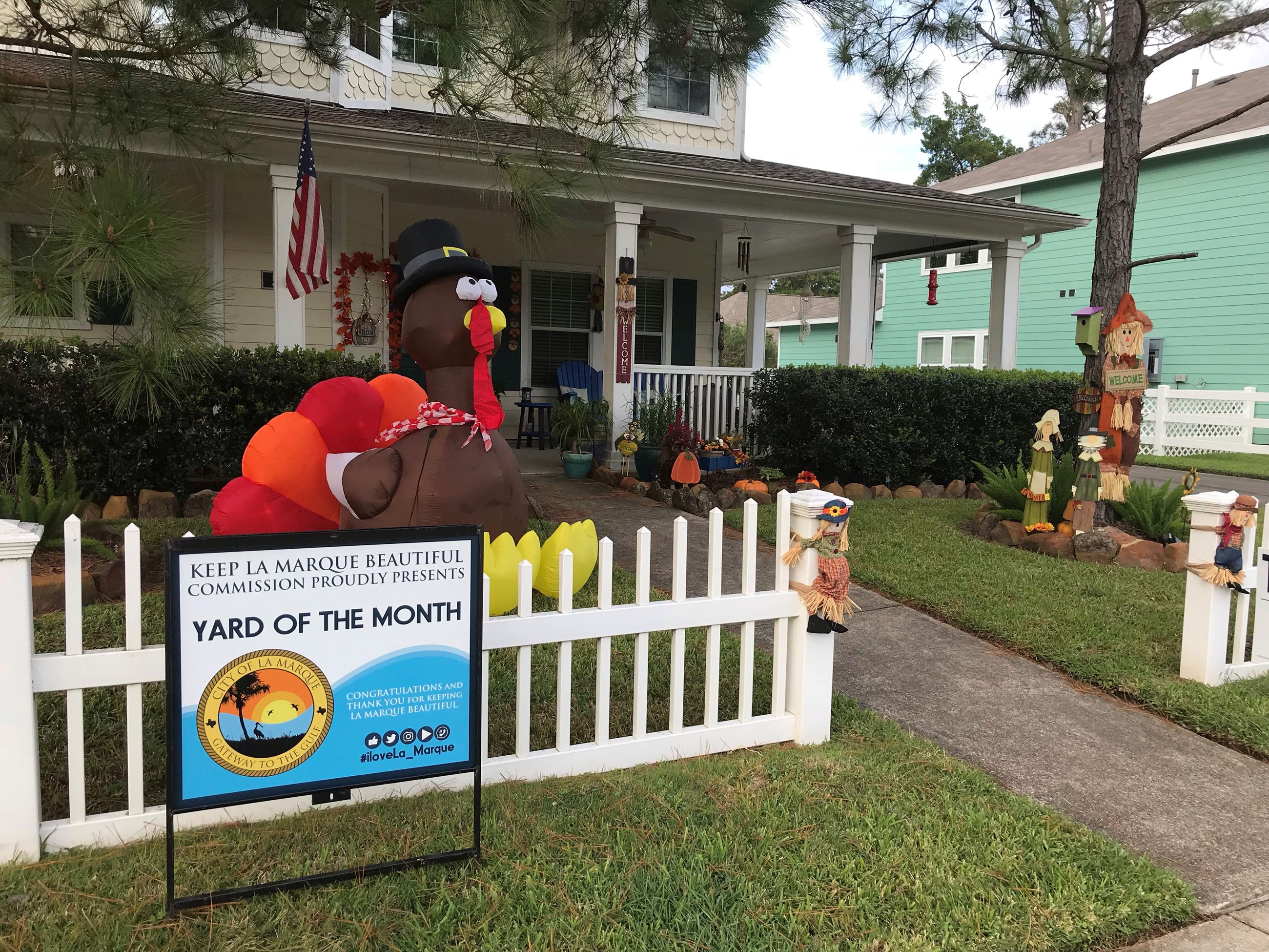 Nov 2018 Residential Yard of the Month