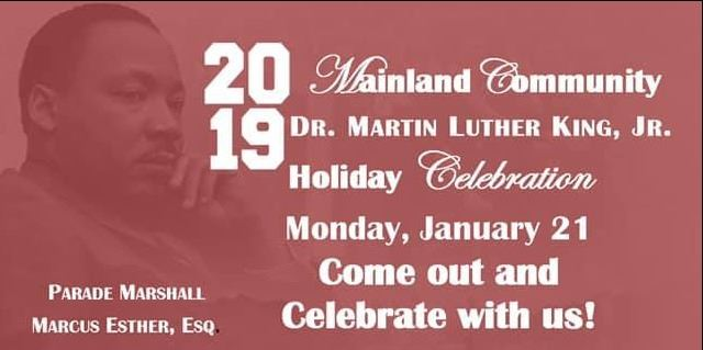 MLK Day Parade 2019 Flyer