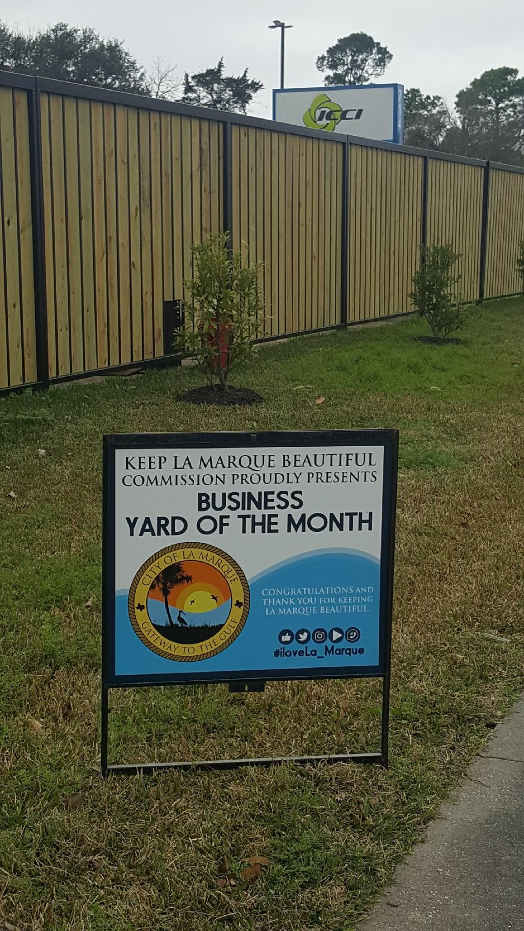 ICCI Feb 2019 Yard of Month
