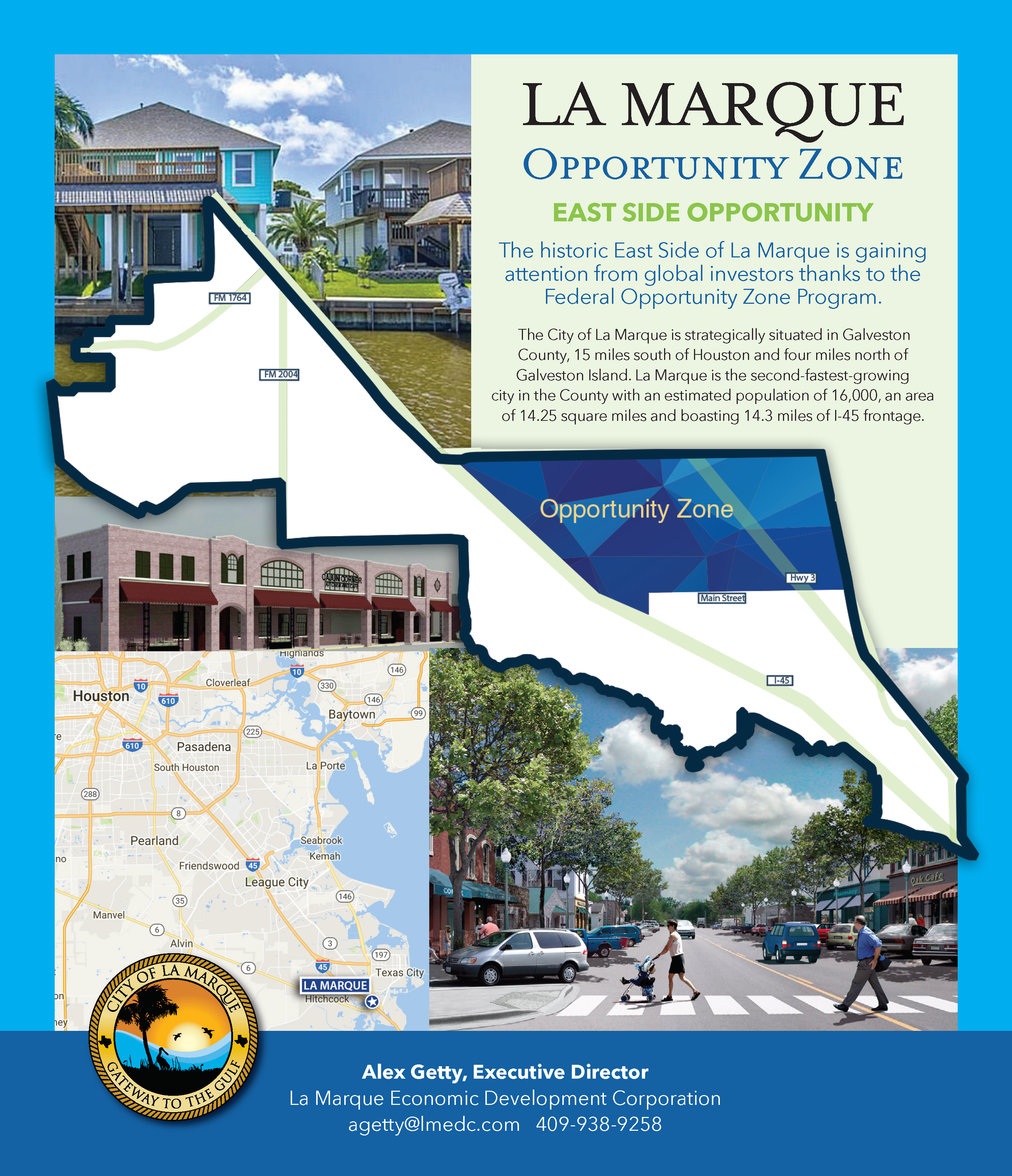 La Marque Federal Opportunity Zone Flyer