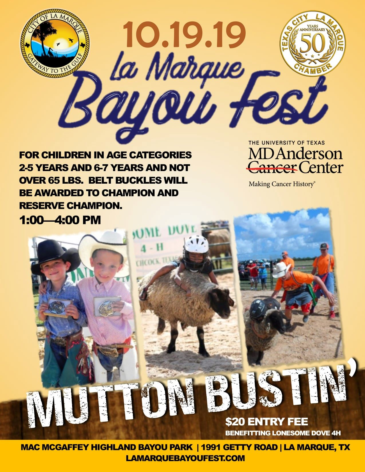 Mutton Bustin' Flyer