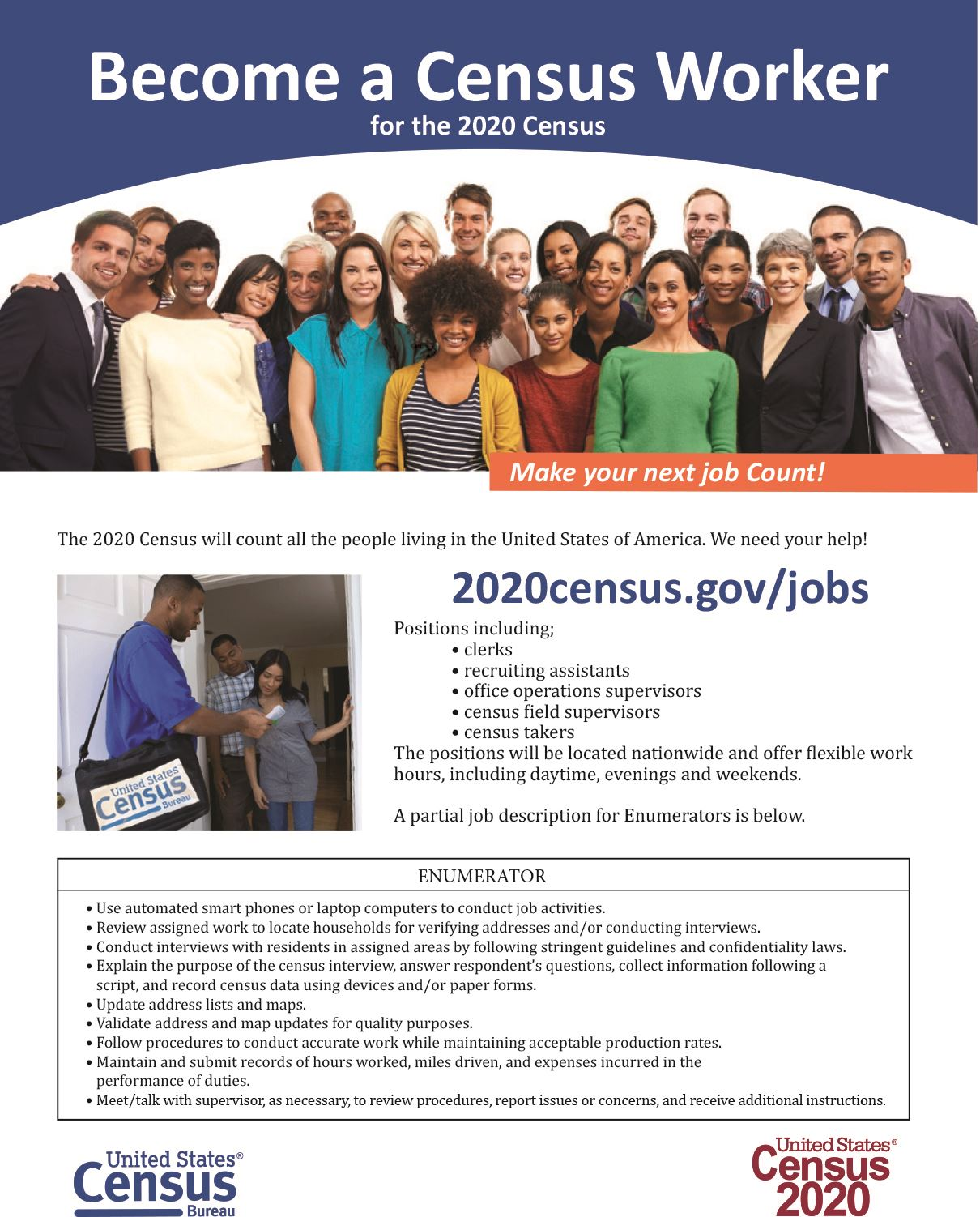 Become a Census Worker