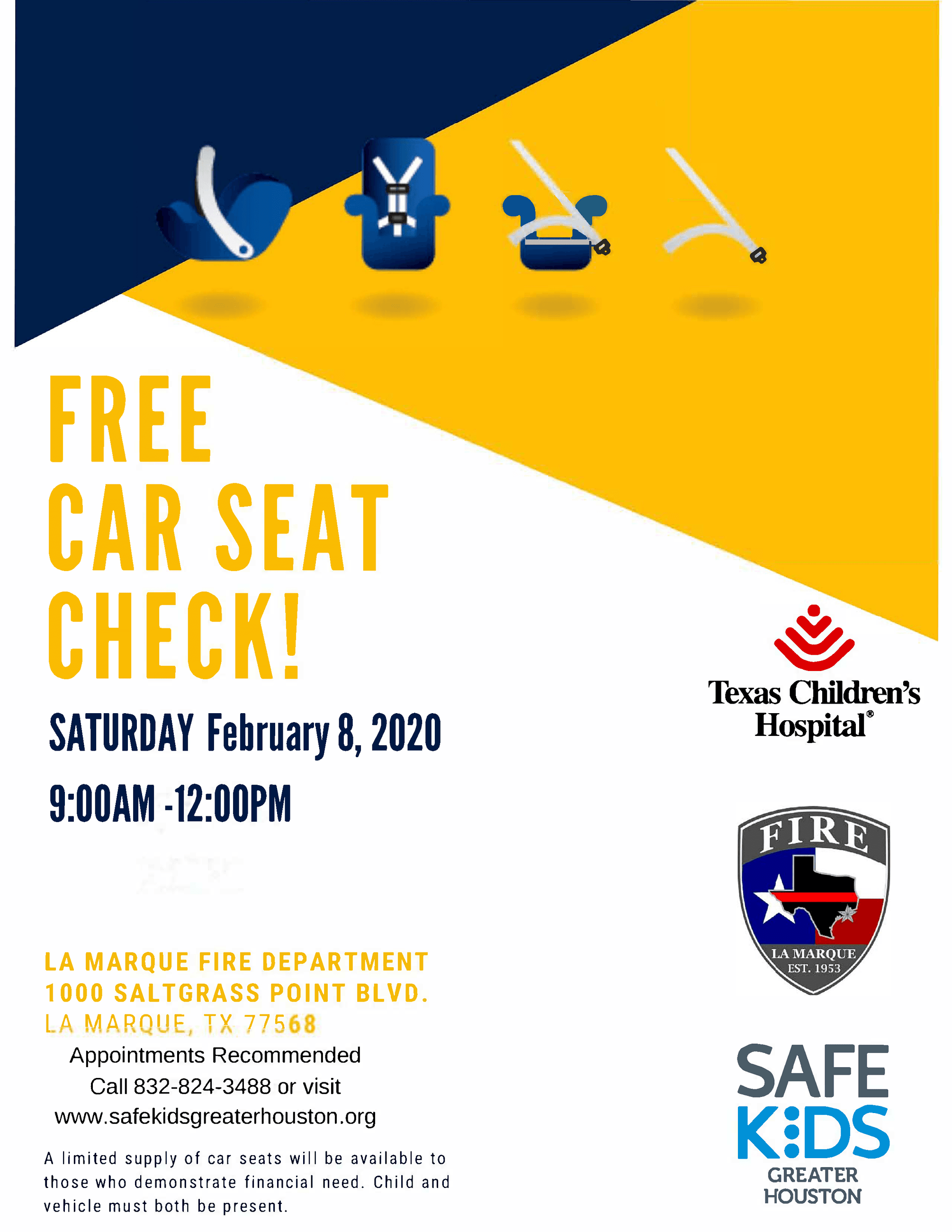 Car Seat Event_Feb 8 2020_LMFD